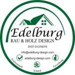 Logo Edelburg Bau & Holz Design Spanndecken - Natursteinteppich - Designer Bad - Design Belag