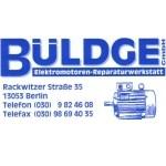 Logo BÜLDGE Elektromotoren-Reparaturwerkstatt GmbH
