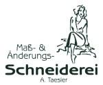 Logo Maß- und Änderungs-Schneiderei  A. Taesler
