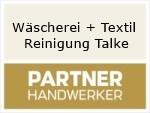 Logo Wäscherei + Textil Reinigung Talke