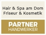 Logo Hair & Spa am Dom Friseur & Kosmetik
