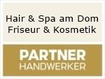 Logo Hair & Spa am Dom Friseur & Kosmetik