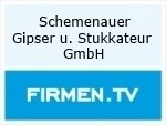 Logo Schemenauer Gipser u. Stukkateur GmbH