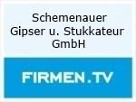 Logo Schemenauer Gipser u. Stukkateur GmbH