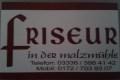 Logo Friseur in der malzmühle