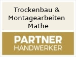 Logo Trockenbau & Montagearbeiten Mathe
