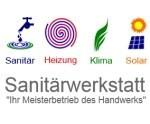 Logo Sanitärwerkstatt  Ihr Meisterbetrieb des Handwerks
