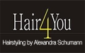 Logo Hair 4 You Hairstyling by Alexandra Schumann