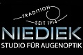 Logo Niediek GbR Studio für Augenoptik