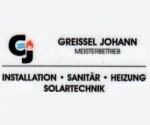 Logo Greißel Johann Meisterbetrieb  Installation-Sanitär-Heizung-Solartechnik