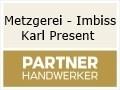Logo Metzgerei - Imbiss Karl Present