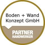 Logo Boden + Wand Konzept GmbH