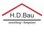 Logo H.D.BAU  Bauelemente Bausanierung